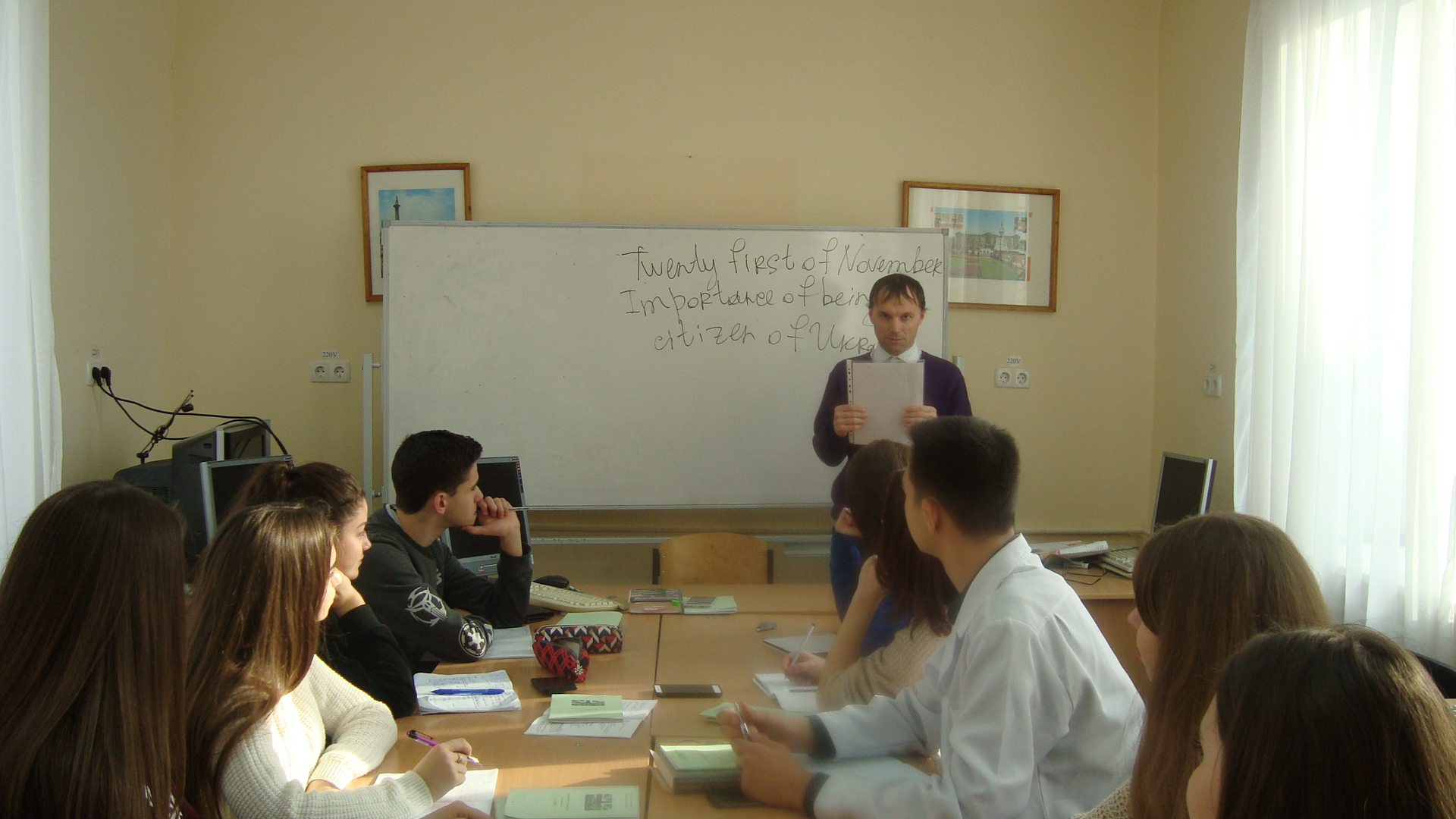 EDUCATIONAL LECTURE - IMPORTANCE OF BEING THE CITIZEN OF UKRAINE.